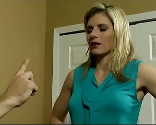 Cory chase in milf was puzzled about her stepson