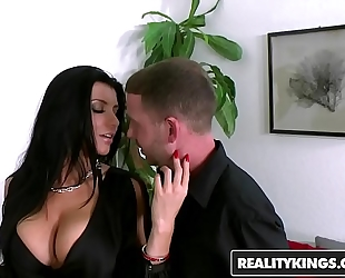 Realitykings - large bazookas boss - (romi rain) large milk shakes boss romi had t - the terms