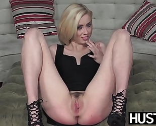Irresistible haley reed blowbanged in advance of impure facial