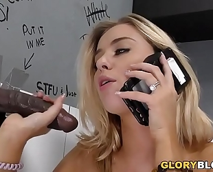Cheating haley reed copulates dark knob - gloryhole