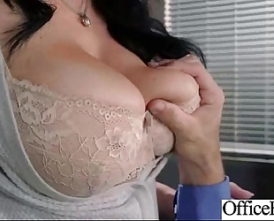 Hard style sex in office with large round milk sacks cheating wife (jayden jaymes) mov-23