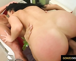 Aletta ocean getting a bawdy oozing cum creampie injected into her