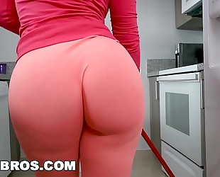 Bangbros - rose monroe is a sexually excited latin honey maid with big arse and big love muffins